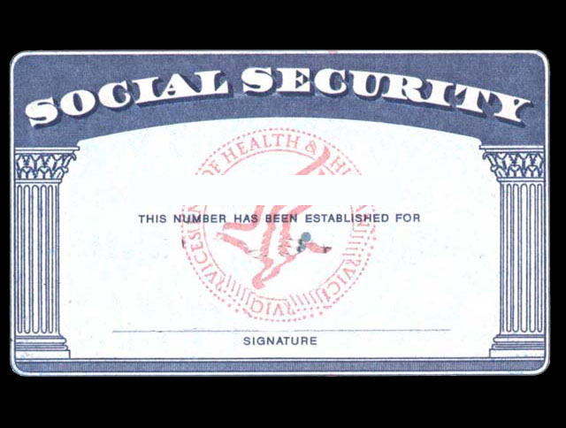 Social Security Card Template | Cyberuse